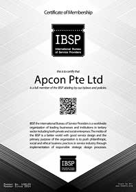 Office Interior Design and Office Furniture Singapore -IBSP Membership - Apcon PTE LTD - Office Interior Design