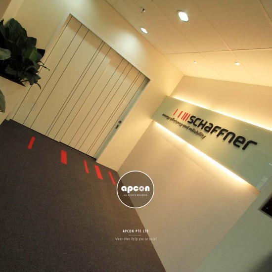 Office Interior Design and Renovation Singapore - OXL Interior - UBI Office Interior - Office Lobby Deisgn 2